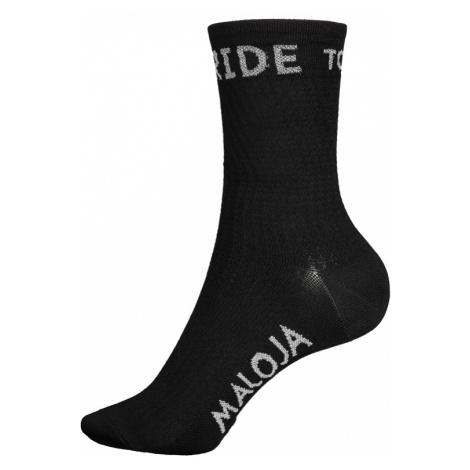 Ponožky Maloja RoevelM. čierne