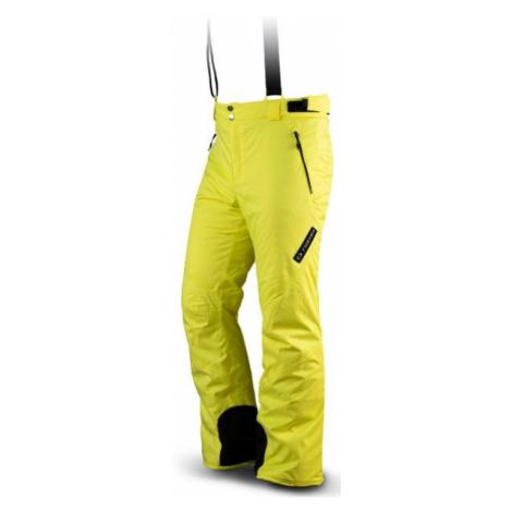 TRIMM DERRYL žltá - Pánske lyžiarske nohavice