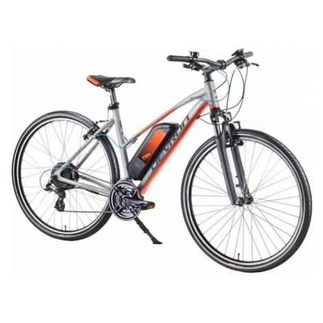 """Dámsky crossový elektrobicykel Devron 28162 28"""" - model 2019 Farba Silver"""