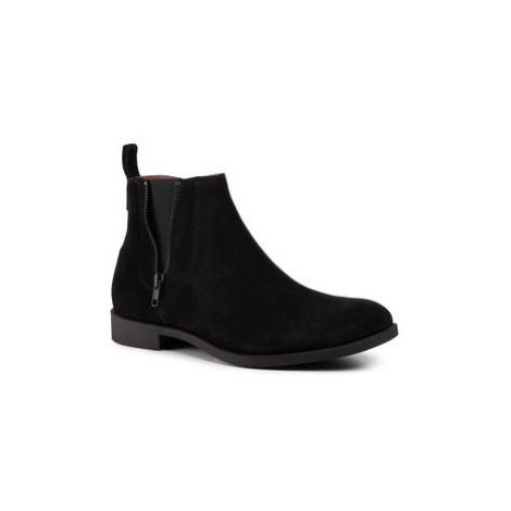 Gino Rossi Šnurovacia obuv Mare MBU391-379-R500-9900-0 Čierna