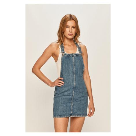 Pepe Jeans - Rifľové šaty Vesta