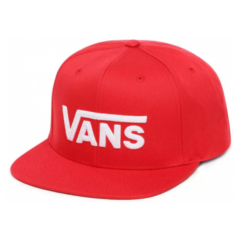 Vans Mn Drop V Ii Snapback Racing Red-One size červené VN0A36ORIZQ-One size