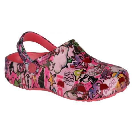 Coqui FROG ružová - Detské sandále