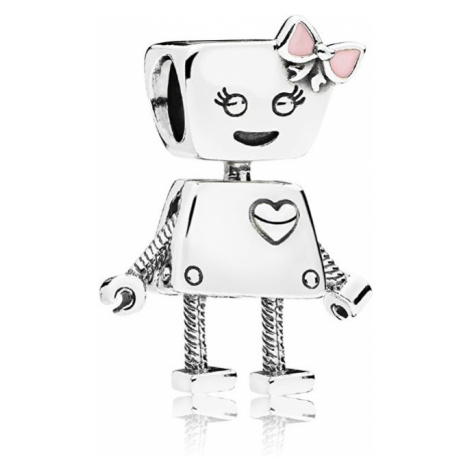 Pandora Strieborný prívesok Robotka Bella 797141EN160