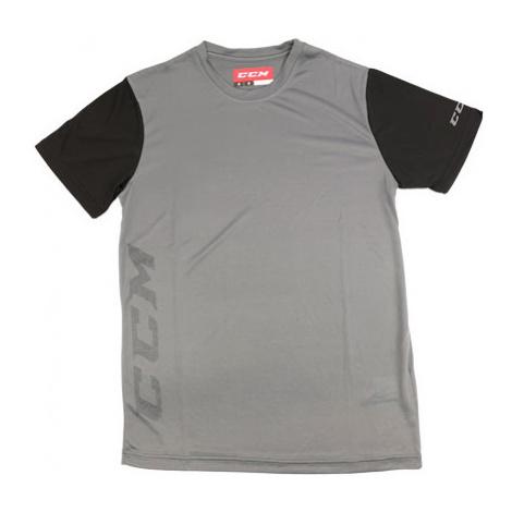 Ccm Tech Tee Dark Grey/Black Sr