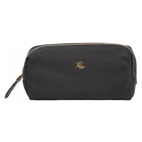 Lauren Ralph Lauren Listová kabelka  čierna