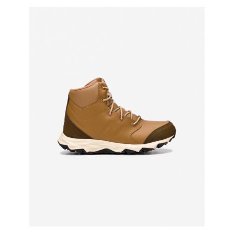 Hnedá chlapčenské trekové a outdoorové topánky