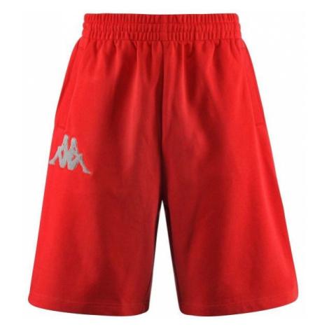 Kappa AUTHENTIC BAREY červená - Pánske šortky