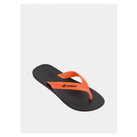 Oranžové pánske žabky Rider