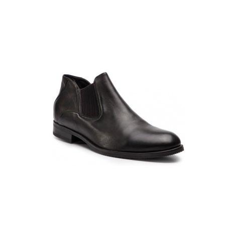 Gino Rossi Členková obuv s elastickým prvkom Chuck MSV616-K36-DZ00-3700-0 Hnedá