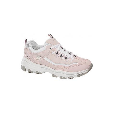 Ružové chunky tenisky Skechers