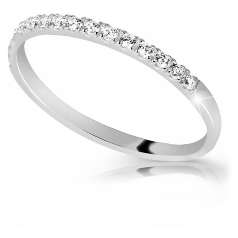 Cutie Diamonds Krásny trblietavý prsteň s diamantmi DZ6739-00-X-2 mm Cutie Jewellery