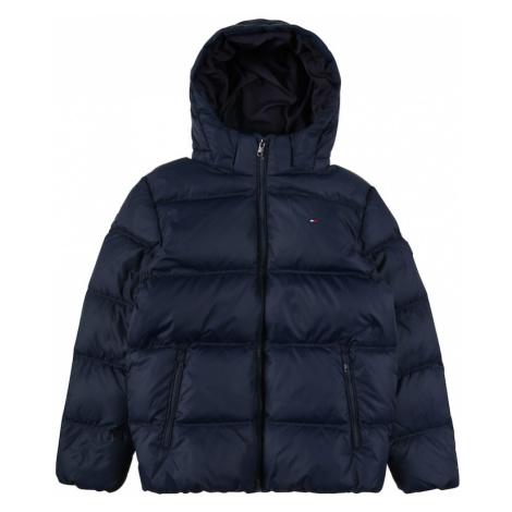 TOMMY HILFIGER Zimná bunda  tmavomodrá