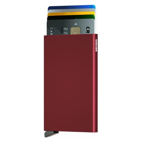 Secrid Cardprotector Bordeaux-One size hnedé C-BORDEAUX-One size