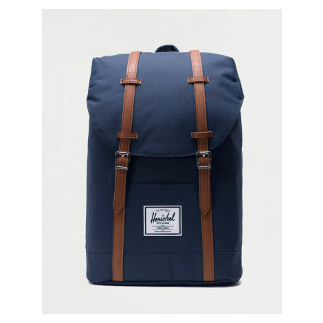 Herschel Supply Retreat Navy/Tan Synthetic Leather
