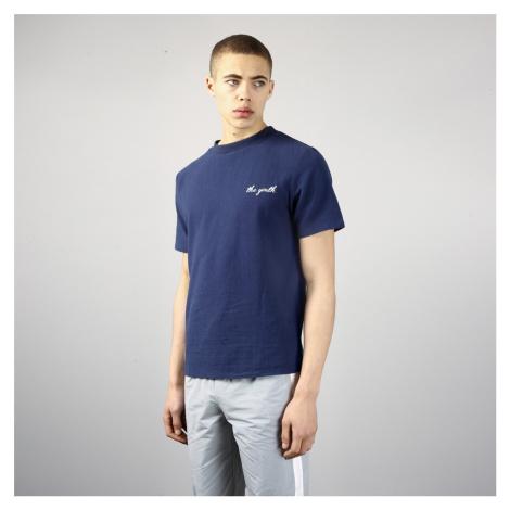 Tmavomodré tričko s nápisom – Broads Youth Native Youth