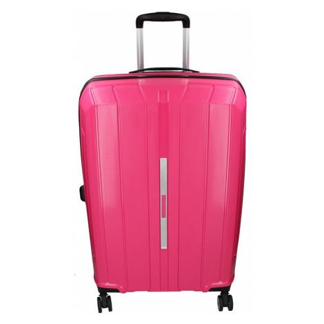 Cestovný kufor Snowball Barcelona M - ružová