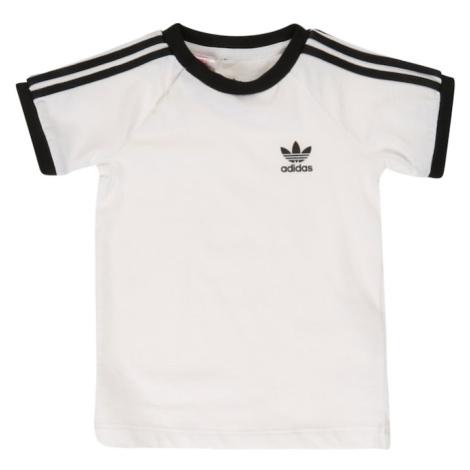 ADIDAS ORIGINALS Tričko '3 Stripes'  čierna / biela
