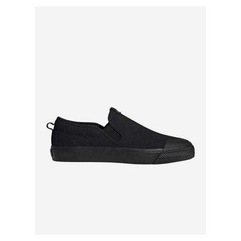 Topánky adidas Originals Nizza Slip On Čierna