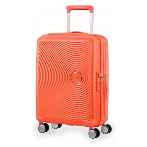 American Tourister Kabínový cestovný kufor Soundbox Spinner 32G 35,5/41 l - oranžová
