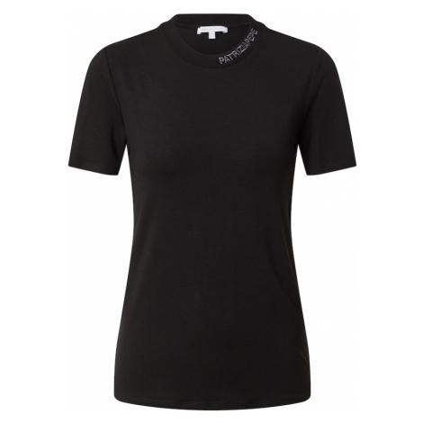 PATRIZIA PEPE Tričko 'MAGLIA'  čierna