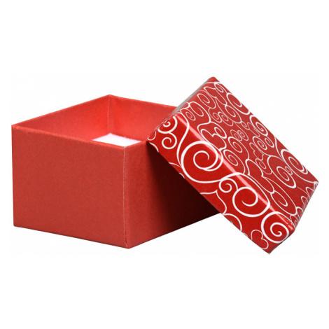 JK Box Romantická darčeková krabička na prsteň VE-3 / A7 JKbox