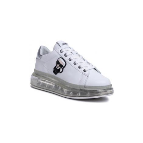 KARL LAGERFELD Sneakersy KL62630 Biela