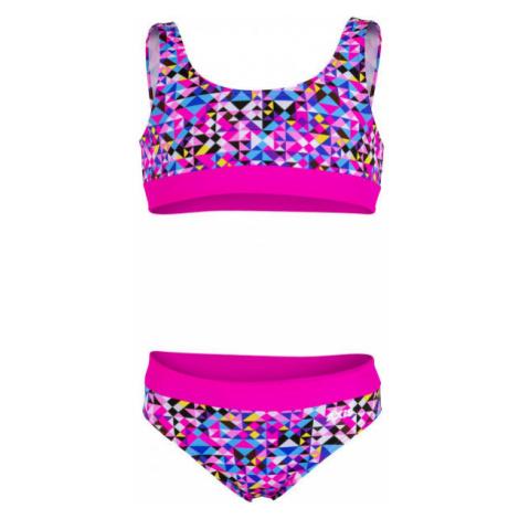 Axis LAMBÁDA DIEVČENSKÉ PLAVKY ružová - Dievčenské dvojdielne plavky