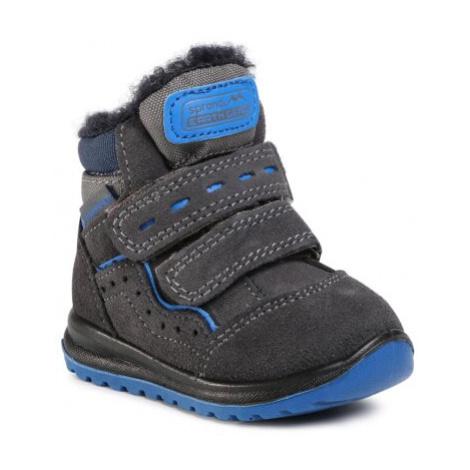 Šnurovacia obuv SPRANDI EARTH GEAR CP91-20025 Prírodná koža(useň) - Zamš
