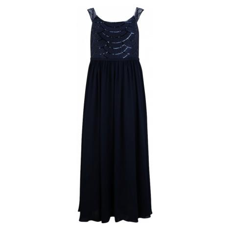 My Mascara Curves Šaty 'Lined Sequin'  námornícka modrá