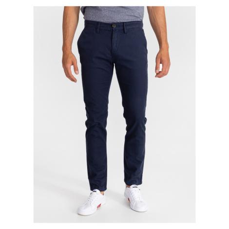 Kalhoty Tom Tailor Modrá