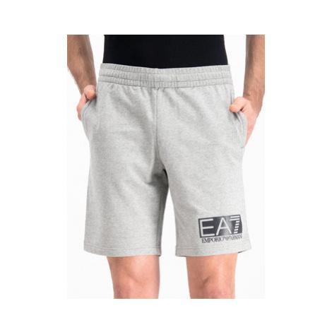 EA7 Emporio Armani Športové kraťasy 3GPS73 PJ05Z 3905 Sivá Regular Fit
