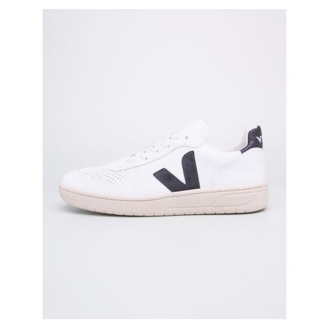 Veja V-10 Leather Extra White Black