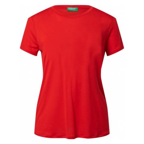UNITED COLORS OF BENETTON Tričko  červená