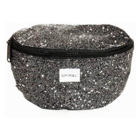 Ľadvinka Spiral Stardust Bum Bag Black - Veľkosť:UNI