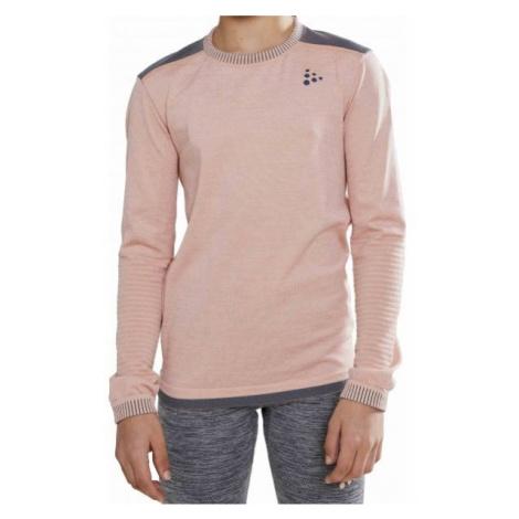 Craft FUSEKNIT COMFORT ružová - Juniorské funkčné tričko
