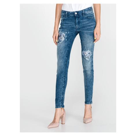 Jeans Just Cavalli Modrá