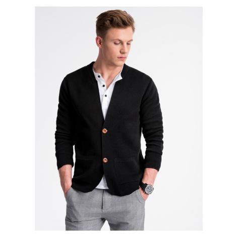 Ombre Clothing Men's sweater E168 Black
