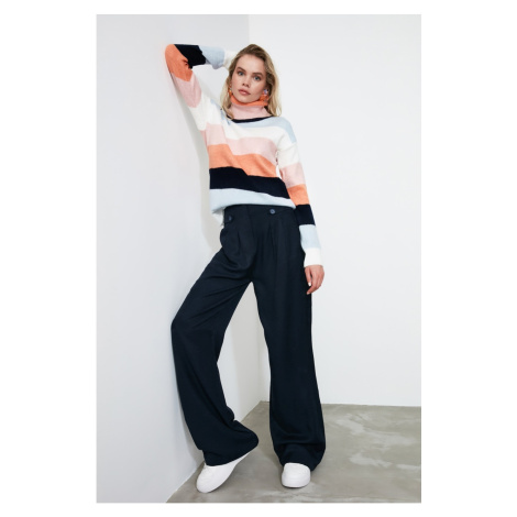 Trendyol Navy Button Detailed Pants