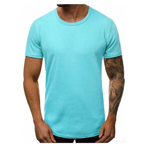 Mentolové jednoduché tričko O/1208 BREEZY