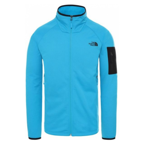The North Face BOROD FULL ZIP ACOUSTICBL modrá - Pánska mikina
