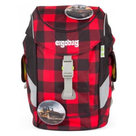 Ergobag Mini červeno-čierny