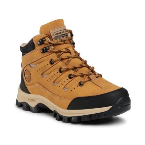 Šnurovacia obuv SPRANDI EARTH GEAR BP07-91327-01 Imitácia kože/-Imitácia kože