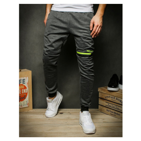 Dark gray men's sweatpants UX2411 DStreet