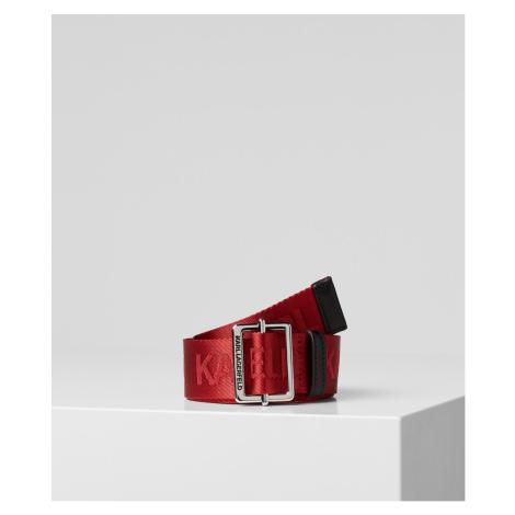 Opasok Karl Lagerfeld K/Karl Logo Webbing Belt