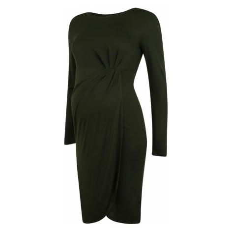 MAMALICIOUS Šaty  zelená Mama Licious