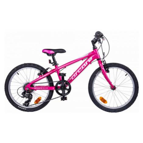 """Arcore NELVER 20 ružová - Detský 20"""" bicykel"""