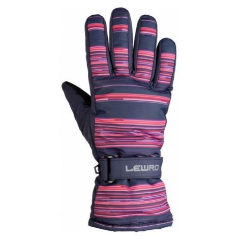 Lewro PYRY ružová - Detské lyžiarske rukavice