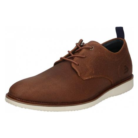 BULLBOXER Šnurovacie topánky  hnedá