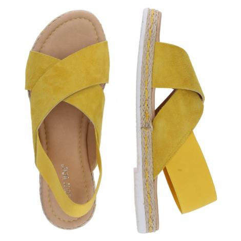 ABOUT YOU Sandále 'Nadja'  žltá